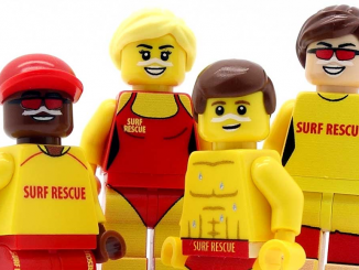 Stanmore Public School Lego Surf Rescue Minifigures