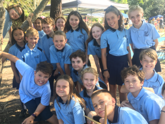 Stanmore Public School Choir at the Kegworth Autumn Fair 2018