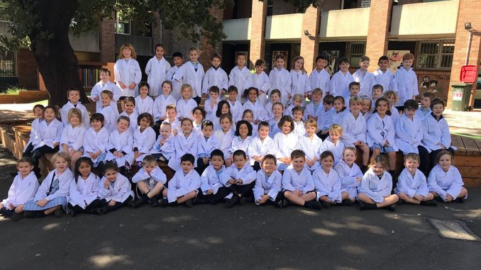 Stanmore Public School Kindy Students at STEAM Day 2019