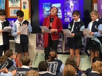 Stanmore Public School Author Talk & Book Launch Deborah Abela