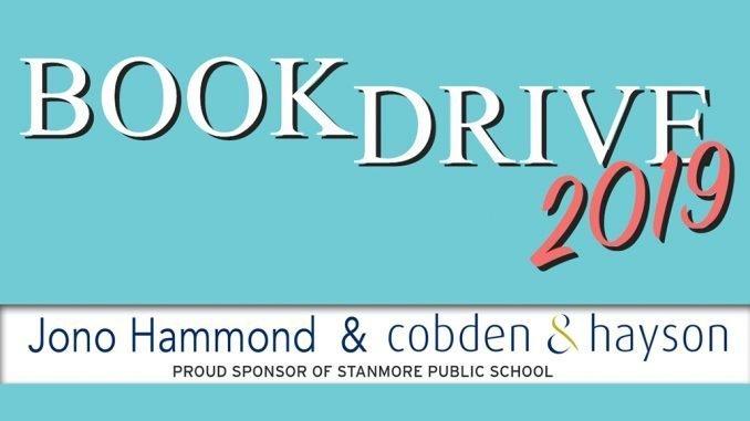 Stanmore Public School Book Drive 2019