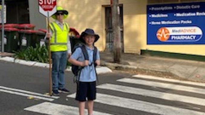 Stanmore Public School Holt St Crossing