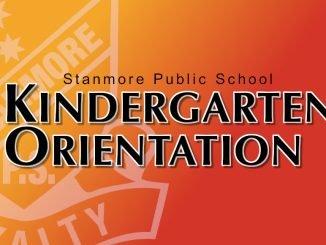 Stanmore Public School Kindergarten Orientation