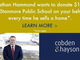 stanmore public school C&H sponsor ad