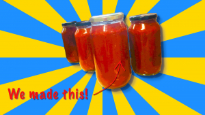 stanmore public school tomato festival passata jars 2021