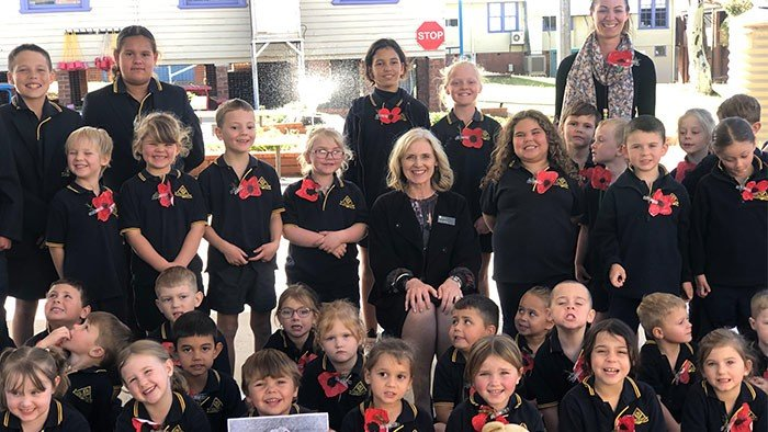 stanmore public school ANZAC condobolin