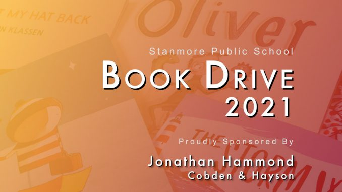 stanmore public school book drive 2021