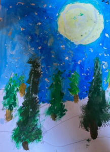 Stanmore Public School - Catherine 1_2S Perspective Painting