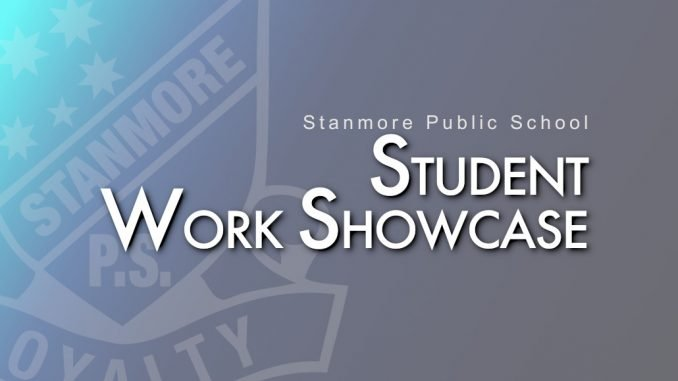 stanmore public school student work showcase